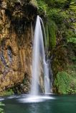 Изображение ландшафта национального парка озер Plitvice Стоковая Фотография
