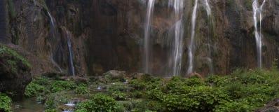 Изображение ландшафта национального парка озер Plitvice Стоковое Фото