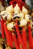 изображение людей cucurbit искусства китайское Стоковые Изображения