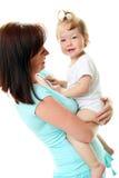 изображение мати младенца счастливое стоковая фотография rf
