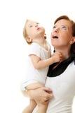 изображение мати младенца счастливое стоковое изображение