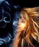 изображение мечтая девушки Стоковая Фотография RF