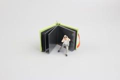 изображение мини диаграммы фотографа кукол фотографирует Стоковые Изображения RF