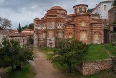 Изображение монастыря St Luke около Дэлфи Стоковое Изображение RF