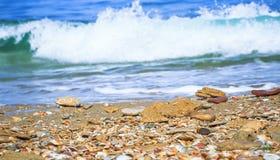 Изображение моря предпосылки Стоковые Изображения