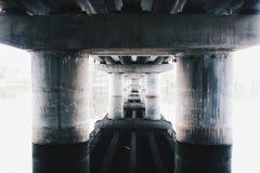 Изображение моста городское Стоковая Фотография
