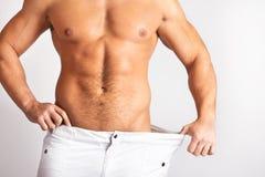 изображение мужчин тела мышечное Стоковое Изображение