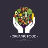 Изображение натуральных продуктов Стоковое Изображение