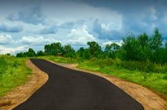 Новая дорога Стоковые Фотографии RF