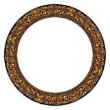 изображение овала золота рамки Стоковые Фотографии RF