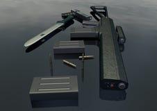 - изображение 5 оружия установленное Стоковое Изображение RF