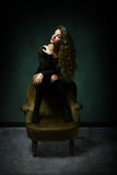 Изображение очарования девушки стоковые фотографии rf
