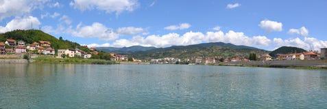 Изображение панорамы egrad ¡ ViÅ, Босния и Герцеговина стоковая фотография rf