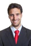 Изображение пасспорта испанского бизнесмена с костюмом Стоковое Изображение RF