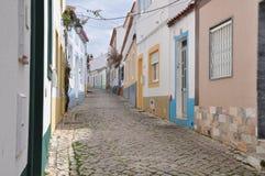 Ferragudo, Алгарве, Португалия, Европа Стоковое Фото