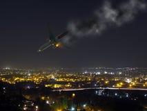 Авиационная катастрофа стоковое изображение