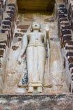 Изображение положения Будды и руки владением на ayutthaya Таиланде Стоковое Изображение RF