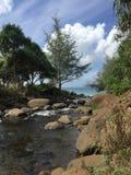 Изображение потока Kaua'i Стоковые Изображения