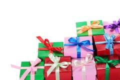 изображение подарка проверки коробок мое портфолио подобное Стоковая Фотография