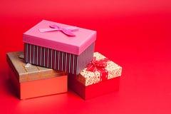 изображение подарка проверки коробок мое портфолио подобное Стоковые Фотографии RF