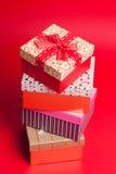 изображение подарка проверки коробок мое портфолио подобное Стоковое Изображение RF