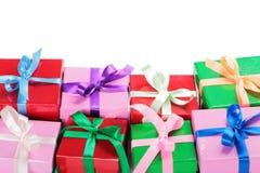 изображение подарка проверки коробок мое портфолио подобное Стоковое Изображение