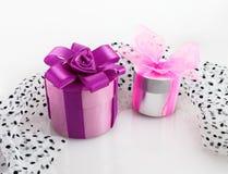 изображение подарка проверки коробок мое портфолио подобное Стоковая Фотография RF