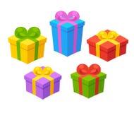 изображение подарка проверки коробок мое портфолио подобное иллюстрация вектора