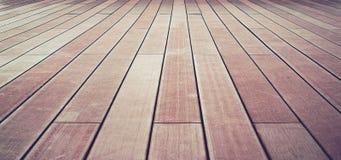 Изображение половых досок абстрактной предпосылки деревянное Стоковые Фотографии RF