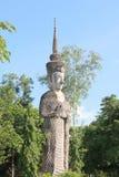 Изображение положения Будды Стоковые Изображения
