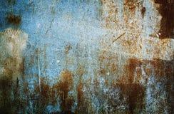 Изображение предпосылки grunge абстрактных обоев старой железной ржавой Стоковые Изображения