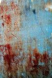 Изображение предпосылки grunge абстрактных обоев старой железной ржавой Стоковые Фото