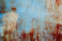 Изображение предпосылки grunge абстрактных обоев старой железной ржавой Стоковые Изображения RF