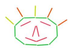 изображение принципиальных схем цвета Стоковые Фото