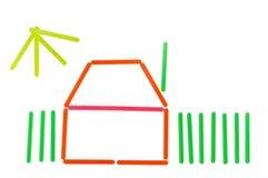 изображение принципиальных схем цвета Стоковое Изображение RF