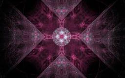 Изображение произведенное цифров сделанное красочной фрактали для служения как фон для проектов связало к фантазии, творческим сп Стоковое фото RF