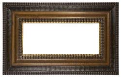 изображение путя коричневой рамки включенное Стоковое Изображение RF