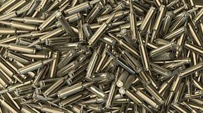 изображение пуль предпосылки 3d произведенное компьютером представляет Стоковая Фотография