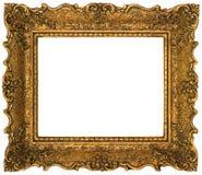 изображение рамки выреза золотистое стоковое изображение