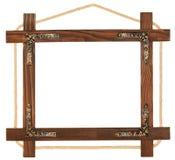 изображение рамки деревянное Стоковое Фото