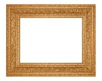 изображение рамки золотистое Стоковые Фотографии RF
