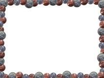 изображение рамки монетки Стоковая Фотография