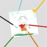 изображение ребенка Стоковая Фотография RF