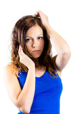 Изображение роскошной нежной женщины Стоковые Изображения