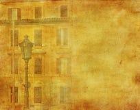 Изображение сбора винограда дома в Рим иллюстрация штока