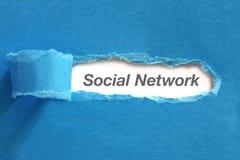 изображение сети 3d представило social Стоковое Фото