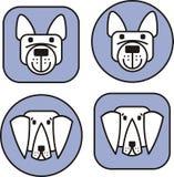 изображение собак иллюстрация вектора