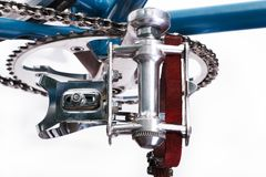 Изображение современного светлого велосипеда Стоковое фото RF