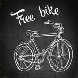 Изображение стопа велосипеда Стоковые Фото