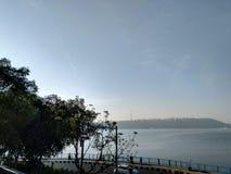 Изображение стороны озера утр стоковое изображение rf